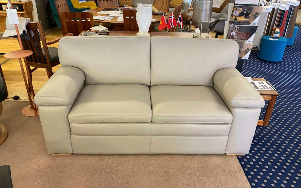 IMG Portsea 2.5 seater in cloud leather